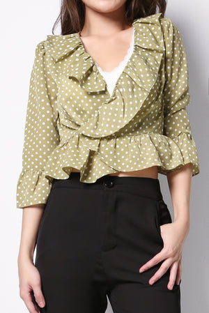 Polka Dot Top 8688