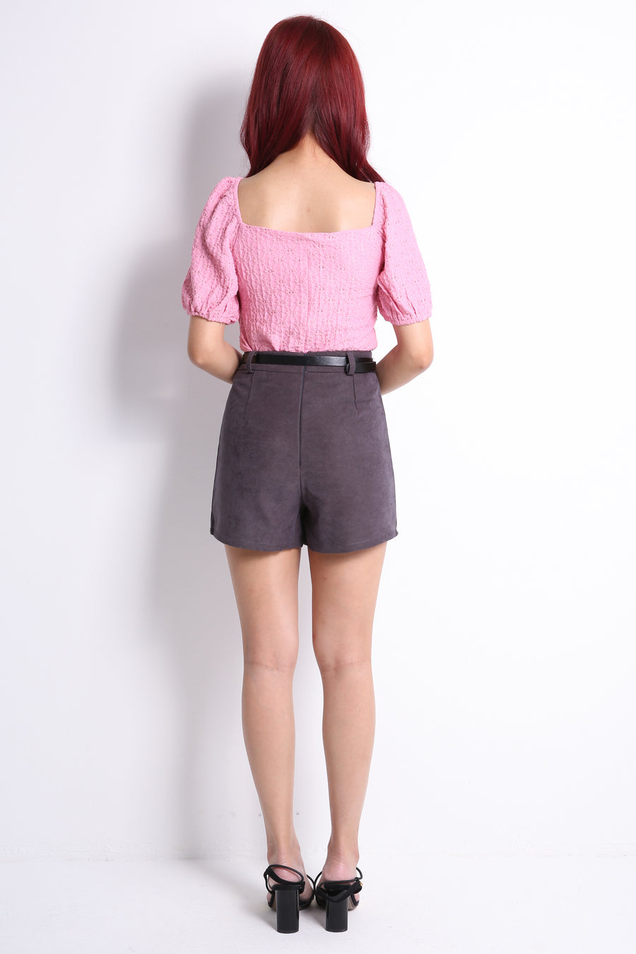 Corduroy Short Pants 10755