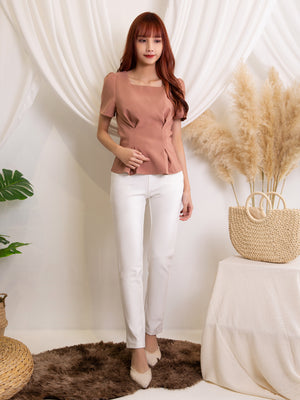 Square Neck Top 11474
