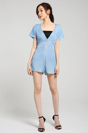 Denim Jumpsuit 2567