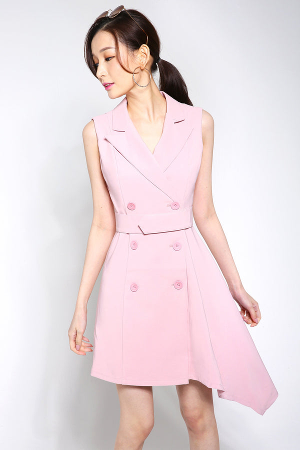 Sleeveless Suit Dress 2570