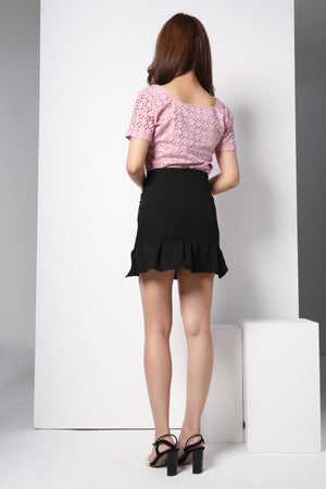 Ruched Skirt 8675
