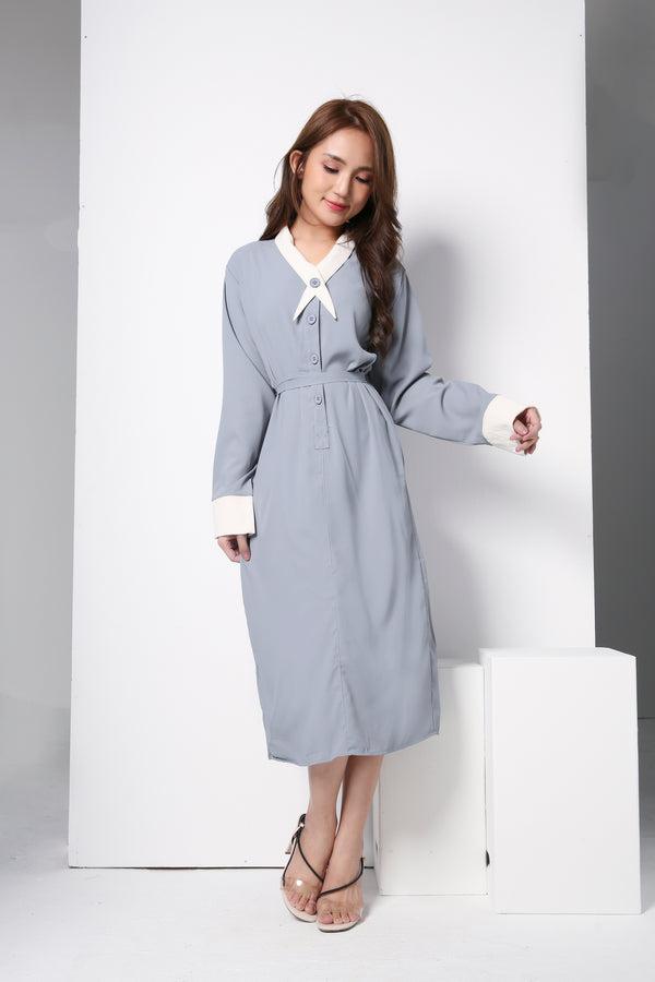 Long Sleeve Dress 8847