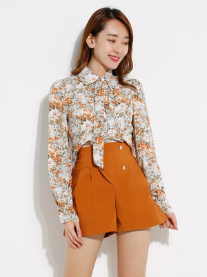 Flower Blouse 12790