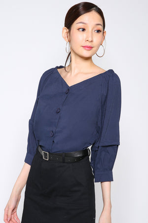 Button Top 2630 - ample-couture
