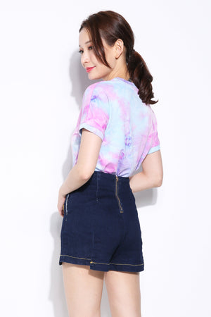 Denim Short Pant 7107 Bottoms