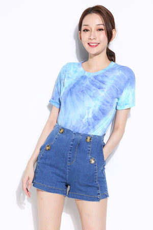 Denim Short Pant 7107 Lightblue / 26 Bottoms