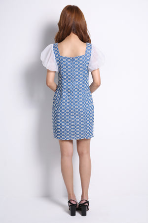 Oval Pattern Dress 10130