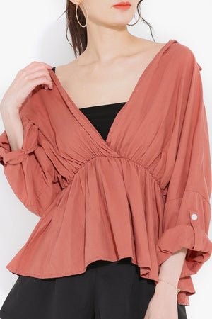 V-Neck Blouse 2731
