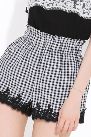 Checker Pants 2795 - ample-couture