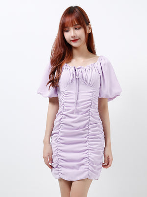 Puff Sleeve Dress 12230