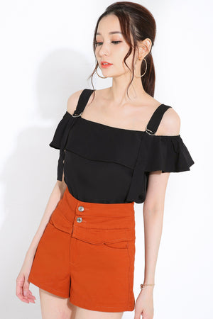 Cold Shoulder Top 2814 - ample-couture