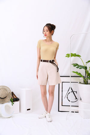 Short Pants with Belt 2918