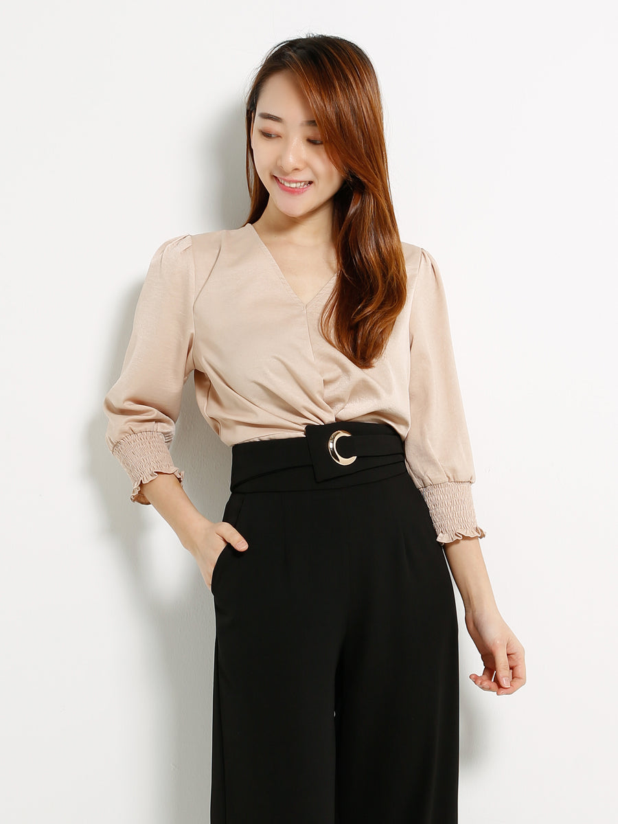 Twist Blouse 13318