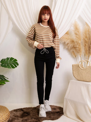 Knit Stripe Top 11564
