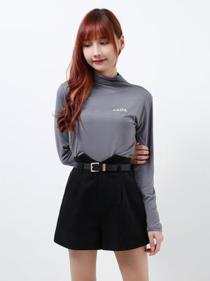 Turtleneck Top 12256