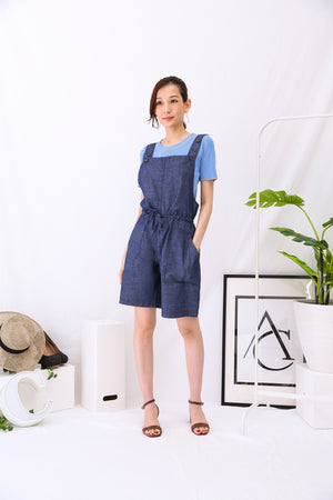 Short Suspender 2997 Dark Blue Bottoms