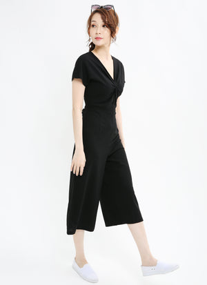 V-Neck Jumpsuit 1031