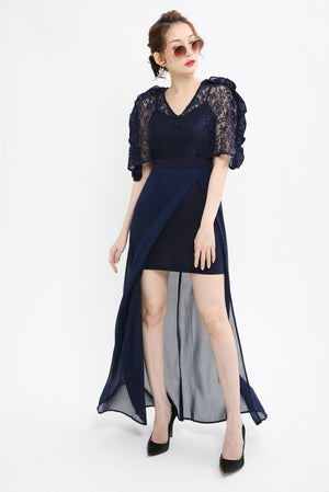 Lace Maxi Dress 1030 - Ample Couture