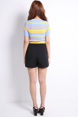 Front Pocket Short Pants 9522A