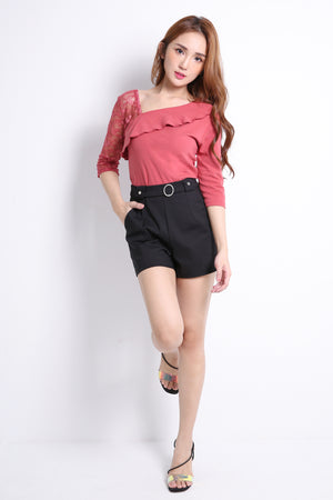 Buckle Short Pants 9516