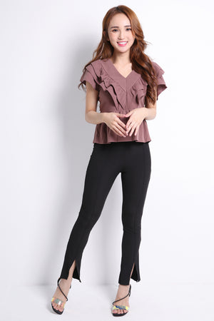 Plain Long Pants 9525A