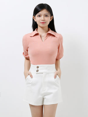 V Neck Collar Top 12280
