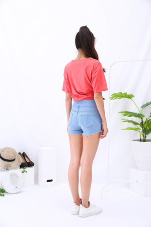 Ribbon Short Pants 3092