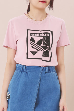 Printed Tee (Adidas) 3887 - ample-couture