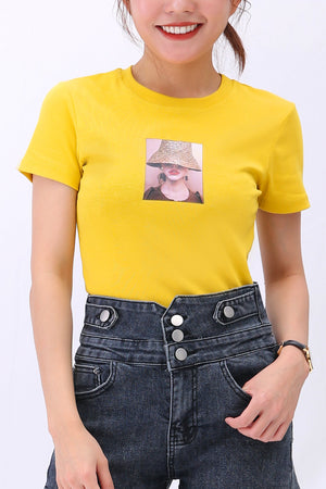 Graphic Tee (Girl) 3131 - ample-couture