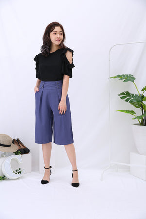 Midi Pants 3167 - ample-couture