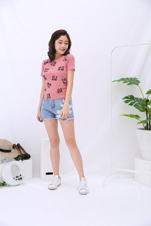 Graphic Tee (Mickey) 3172 - ample-couture