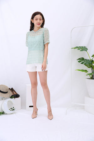 Lace Top with Inner Set 3176