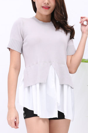 Plain Top 3255 - ample-couture