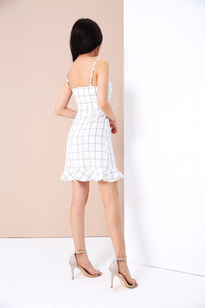 Plaid Dress 3381 - ample-couture