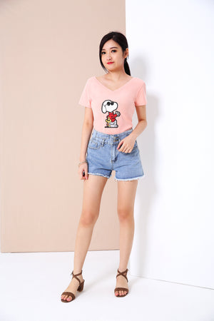 Graphic Tee (Snoopy) 3389