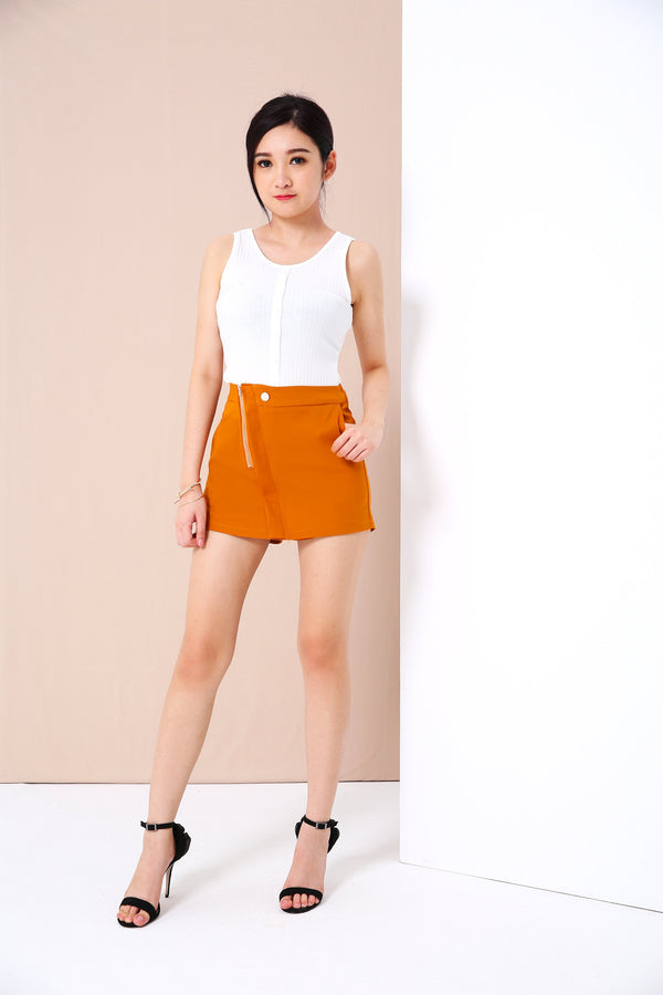 Zipped Shorts 3405