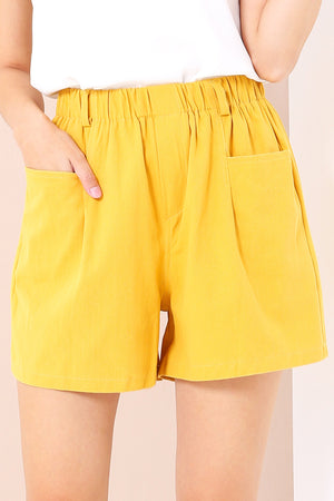 Flare Shorts 3433 - ample-couture