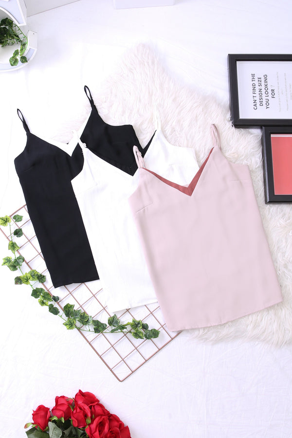 Color Block Cami Top 3419