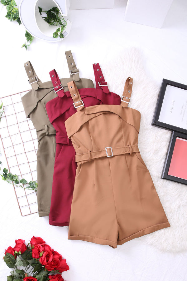 Buckle Detail Jumpsuit 3422