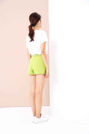 Overlap Shorts 3372 - ample-couture