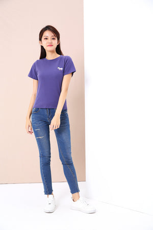 Logo Tee (Unicorn) 3461 - ample-couture
