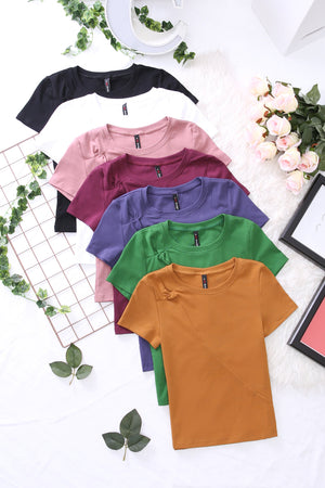 Basic Tee 3511 - ample-couture