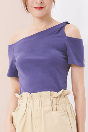 One Cold Shoulder Top 3538 - ample-couture