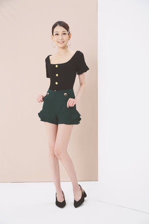 Flare Shorts 3786 - ample-couture