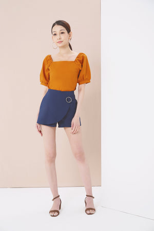 Overlap Shorts 3733 - ample-couture