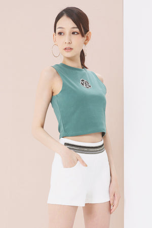Cropped Top 3746 - ample-couture