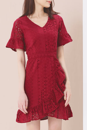 Crochet Dress 3769 - ample-couture