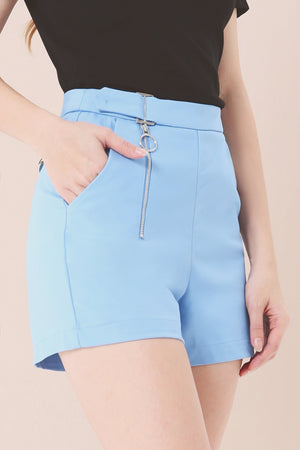 Zipped Shorts 3793 - ample-couture