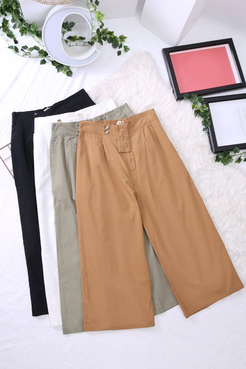 Basic Linen Pants 3913 Bottoms